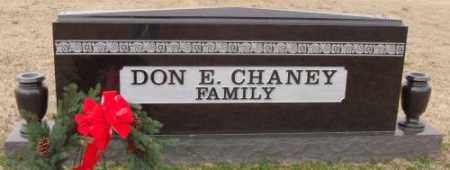 CHANEY FAMILY, DON E. - Lonoke County, Arkansas | DON E. CHANEY FAMILY - Arkansas Gravestone Photos