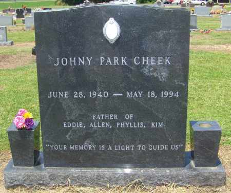 CHEEK, JOHNY PARK - Lonoke County, Arkansas | JOHNY PARK CHEEK - Arkansas Gravestone Photos