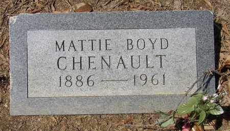 BOYD CHENAULT, MATTIE - Lonoke County, Arkansas | MATTIE BOYD CHENAULT - Arkansas Gravestone Photos