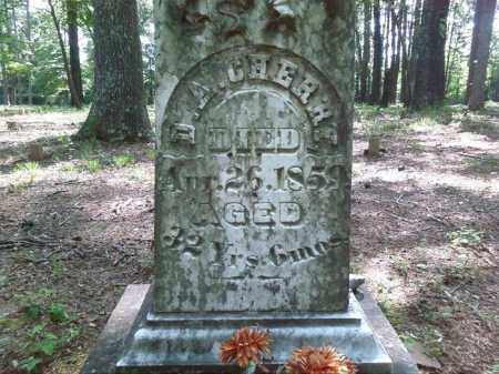 CHERRY, D.A. (CLOSE UP) - Lonoke County, Arkansas | D.A. (CLOSE UP) CHERRY - Arkansas Gravestone Photos