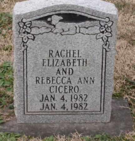 CICERO, REBECCA ANN - Lonoke County, Arkansas | REBECCA ANN CICERO - Arkansas Gravestone Photos