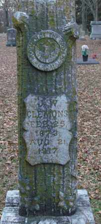 CLEMONS, J  W - Lonoke County, Arkansas | J  W CLEMONS - Arkansas Gravestone Photos