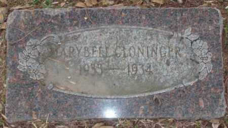 CLONINGER, MARYBELL - Lonoke County, Arkansas | MARYBELL CLONINGER - Arkansas Gravestone Photos