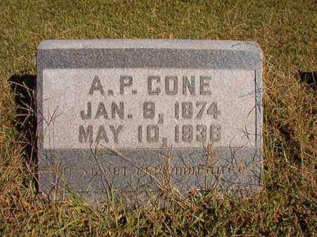 CONE, A P - Lonoke County, Arkansas | A P CONE - Arkansas Gravestone Photos