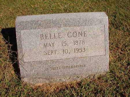 CONE, BELLE - Lonoke County, Arkansas | BELLE CONE - Arkansas Gravestone Photos