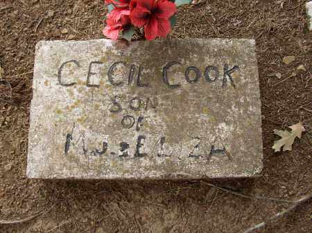 COOK, CECIL - Lonoke County, Arkansas | CECIL COOK - Arkansas Gravestone Photos