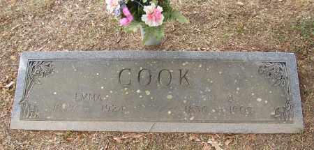 COOK, EMMA - Lonoke County, Arkansas | EMMA COOK - Arkansas Gravestone Photos