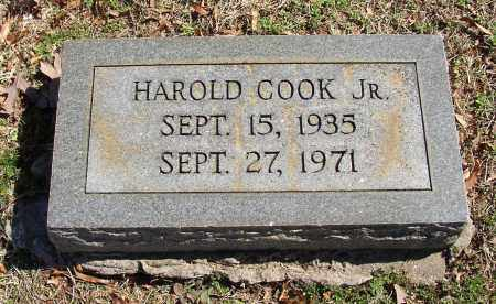 COOK, HAROLD JR. - Lonoke County, Arkansas | HAROLD JR. COOK - Arkansas Gravestone Photos