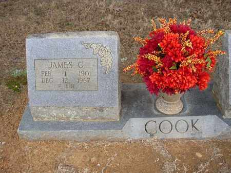 COOK, JAMES C. - Lonoke County, Arkansas | JAMES C. COOK - Arkansas Gravestone Photos