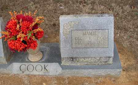 COOK, MAMIE - Lonoke County, Arkansas | MAMIE COOK - Arkansas Gravestone Photos
