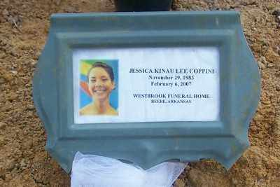 JONES COPPINI, JESSICA KINAU LEE - Lonoke County, Arkansas | JESSICA KINAU LEE JONES COPPINI - Arkansas Gravestone Photos