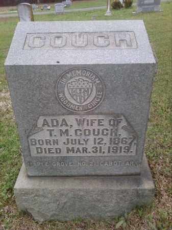 MAR COUCH, ADA - Lonoke County, Arkansas | ADA MAR COUCH - Arkansas Gravestone Photos