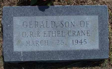 CRANE, GERALD - Lonoke County, Arkansas | GERALD CRANE - Arkansas Gravestone Photos
