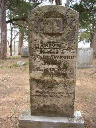CRAWFORD, MARION A. - Lonoke County, Arkansas | MARION A. CRAWFORD - Arkansas Gravestone Photos