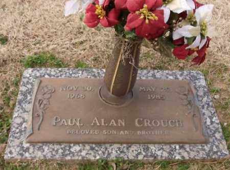 CROUCH, PAUL ALAN - Lonoke County, Arkansas | PAUL ALAN CROUCH - Arkansas Gravestone Photos