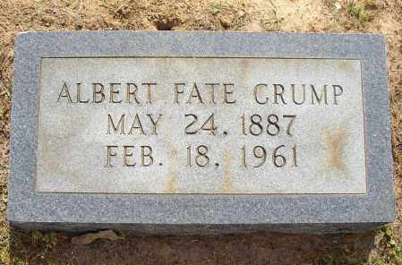 CRUMP, ALBERT FATE - Lonoke County, Arkansas | ALBERT FATE CRUMP - Arkansas Gravestone Photos