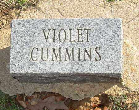 CUMMINS, VIOLET - Lonoke County, Arkansas | VIOLET CUMMINS - Arkansas Gravestone Photos
