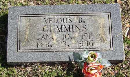 CUMMINS, VELOUS B. - Lonoke County, Arkansas | VELOUS B. CUMMINS - Arkansas Gravestone Photos