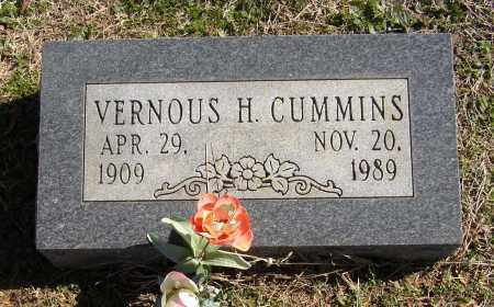 CUMMINS, VERNOUS H. - Lonoke County, Arkansas | VERNOUS H. CUMMINS - Arkansas Gravestone Photos