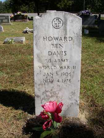 DAVIS (VETERAN WWII), HOWARD BEN - Lonoke County, Arkansas | HOWARD BEN DAVIS (VETERAN WWII) - Arkansas Gravestone Photos