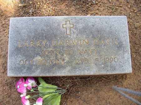 DAVIS (VETERAN), LARRY DARWIN - Lonoke County, Arkansas | LARRY DARWIN DAVIS (VETERAN) - Arkansas Gravestone Photos