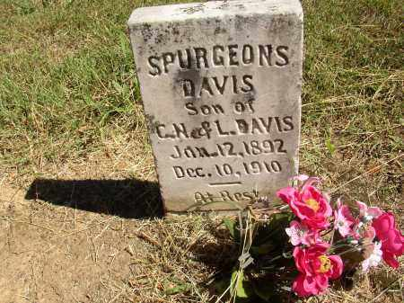DAVIS, SPURGEONS - Lonoke County, Arkansas | SPURGEONS DAVIS - Arkansas Gravestone Photos