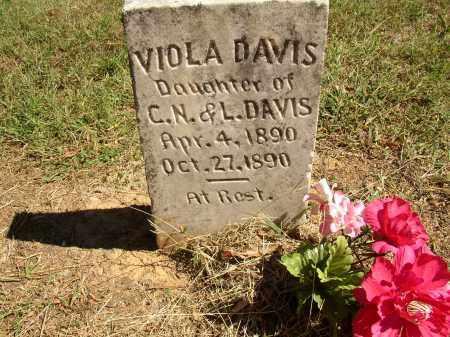DAVIS, VIOLA - Lonoke County, Arkansas | VIOLA DAVIS - Arkansas Gravestone Photos