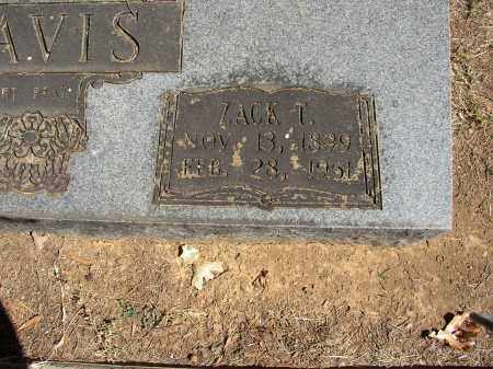 DAVIS, ZACK T. - Lonoke County, Arkansas | ZACK T. DAVIS - Arkansas Gravestone Photos