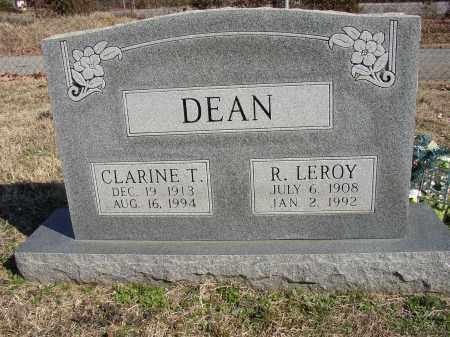 DEAN, CLARINE T. - Lonoke County, Arkansas | CLARINE T. DEAN - Arkansas Gravestone Photos