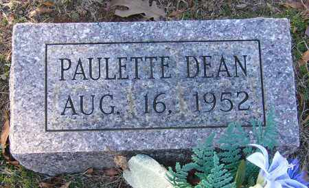 DEAN, PAULETTE - Lonoke County, Arkansas | PAULETTE DEAN - Arkansas Gravestone Photos
