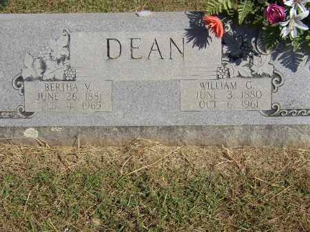DEAN, WILLIAM G. - Lonoke County, Arkansas | WILLIAM G. DEAN - Arkansas Gravestone Photos