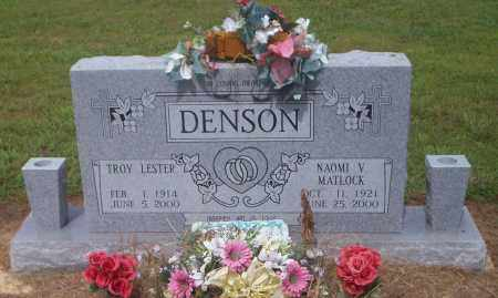 DENSON, TROY LESTER - Lonoke County, Arkansas | TROY LESTER DENSON - Arkansas Gravestone Photos