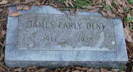 DENT, JAMES EARLY - Lonoke County, Arkansas   JAMES EARLY DENT - Arkansas Gravestone Photos