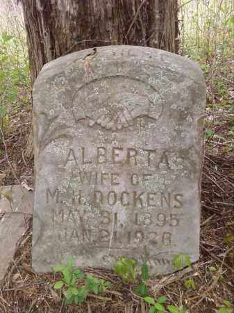 DOCKENS, ALBERTA - Lonoke County, Arkansas | ALBERTA DOCKENS - Arkansas Gravestone Photos