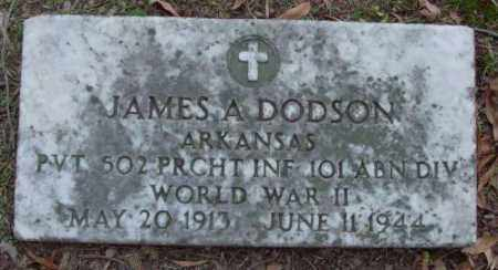 DODSON (VETERAN WWII), JAMES A - Lonoke County, Arkansas | JAMES A DODSON (VETERAN WWII) - Arkansas Gravestone Photos