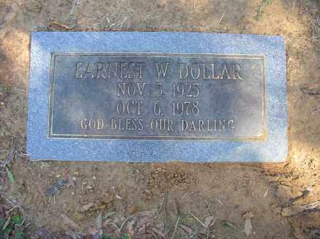 DOLLAR, EARNEST W. - Lonoke County, Arkansas | EARNEST W. DOLLAR - Arkansas Gravestone Photos