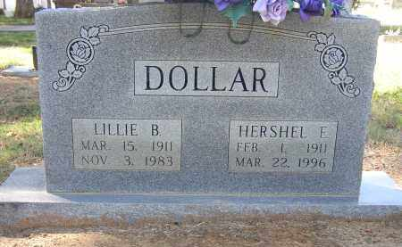 DOLLAR (VETERAN WWII), HERSHEL EUGENE - Lonoke County, Arkansas | HERSHEL EUGENE DOLLAR (VETERAN WWII) - Arkansas Gravestone Photos