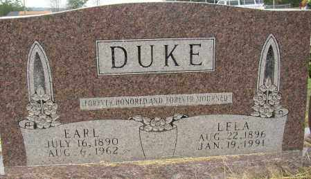 DUKE, EARL - Lonoke County, Arkansas | EARL DUKE - Arkansas Gravestone Photos