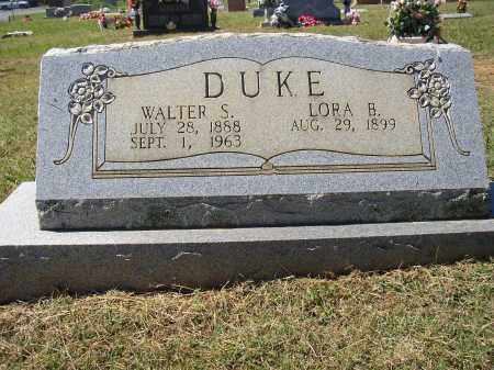 DUKE, WALTER S. - Lonoke County, Arkansas | WALTER S. DUKE - Arkansas Gravestone Photos