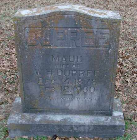 DUPREE, MAUD - Lonoke County, Arkansas | MAUD DUPREE - Arkansas Gravestone Photos