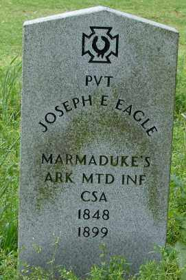 EAGLE (VETERAN CSA), JOSEPH E. - Lonoke County, Arkansas | JOSEPH E. EAGLE (VETERAN CSA) - Arkansas Gravestone Photos