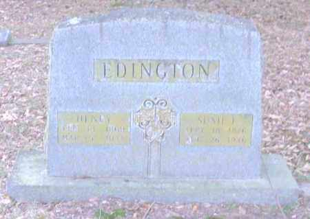 EDINGTON, HENRY - Lonoke County, Arkansas | HENRY EDINGTON - Arkansas Gravestone Photos