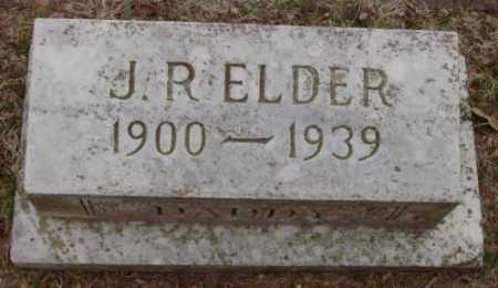 ELDER, J R - Lonoke County, Arkansas | J R ELDER - Arkansas Gravestone Photos