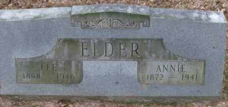 ELDER, ANNIE - Lonoke County, Arkansas | ANNIE ELDER - Arkansas Gravestone Photos