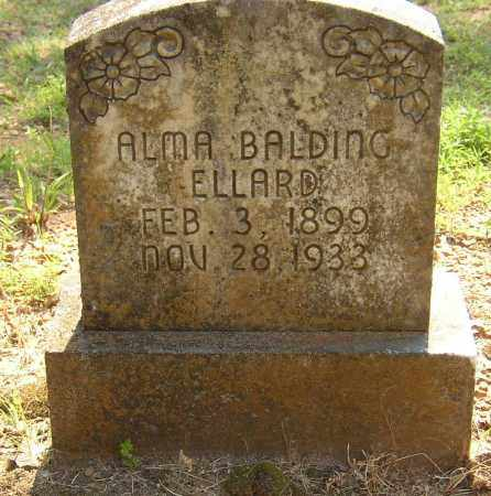 ELLARD, ALMA - Lonoke County, Arkansas | ALMA ELLARD - Arkansas Gravestone Photos