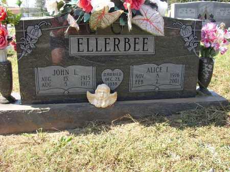 ELLERBEE, JOHN L. - Lonoke County, Arkansas | JOHN L. ELLERBEE - Arkansas Gravestone Photos