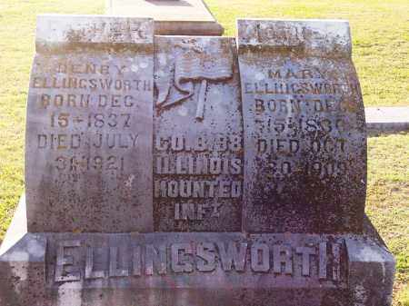 ELLINGSWORTH (VETERAN UNION), HENRY - Lonoke County, Arkansas | HENRY ELLINGSWORTH (VETERAN UNION) - Arkansas Gravestone Photos