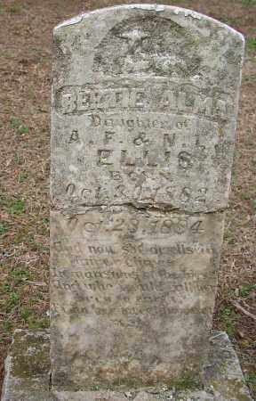 ELLIS, BERTIE ALMA - Lonoke County, Arkansas   BERTIE ALMA ELLIS - Arkansas Gravestone Photos
