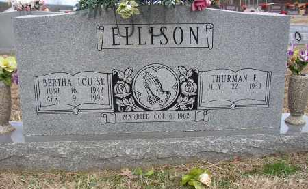 ELLISON, BERTHA LOUISE - Lonoke County, Arkansas | BERTHA LOUISE ELLISON - Arkansas Gravestone Photos