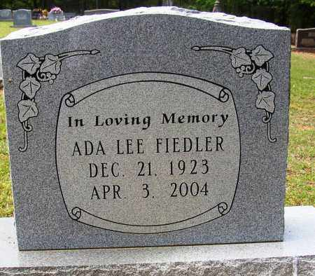 FIEDLER, ADA LEE - Lonoke County, Arkansas | ADA LEE FIEDLER - Arkansas Gravestone Photos